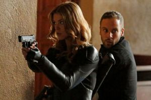 Adrianne Palicki and Nick Blood