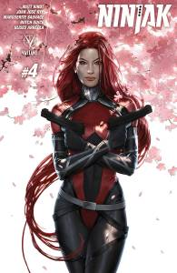 Publisher: VALIANT ENTERTAINMENT LLC (W) Matt Kindt (A) Marguerite Sauvage, Butch Guice (CA) Jelena Kevic-Djurdjevic WHO IS ROKU?! The breakout star of the hit of the year stands revealed as we learn the origin of Ninjak's newest nemesis! But who is Roku - the seemingly indestructible warrior who's proven to be one of the deadliest assassins in the Valiant Universe - and what impact does she have on Colin King's future? Marguerite Sauvage (Sensation Comics) joins Matt Kindt (THE VALIANT, RAI) and Butch Guice (Captain America) for a special standalone tale of the world's most lethal woman! Item Code: APR151766