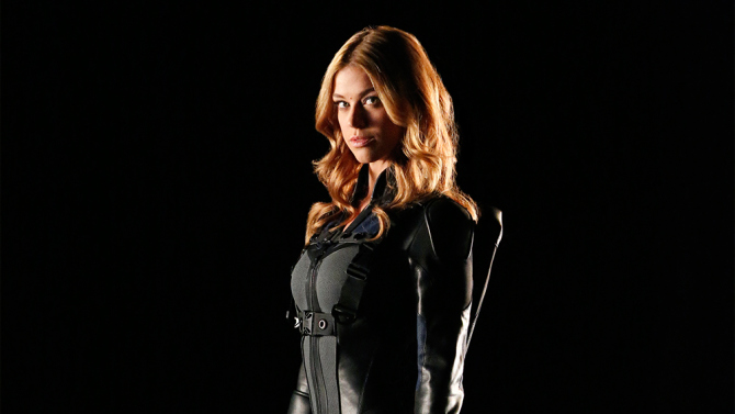 "MARVEL'S AGENTS OF S.H.I.E.L.D. - ABC's ""Marvel's Agents of SHIELD"" stars Adrianne Palicki as Bobbi Morse.  (ABC/Kelsey McNeal)"