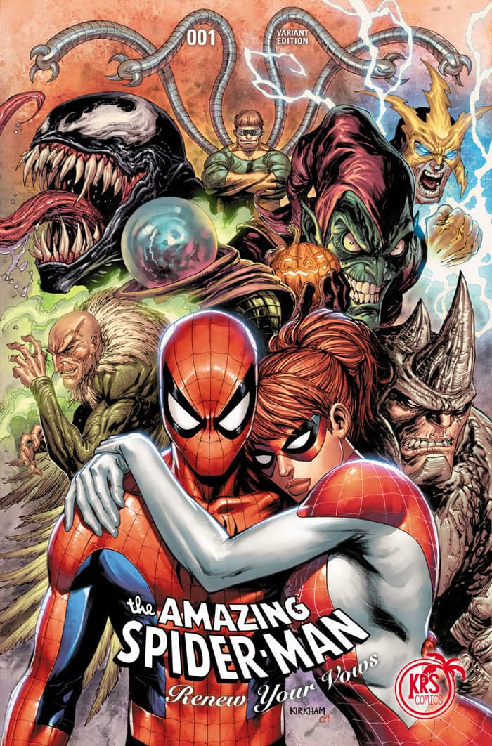 amazing spider man renew your vows variants taylor network of