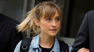 Actress Allison Mack at Federal Court, New York, USA - 24 Apr 2018